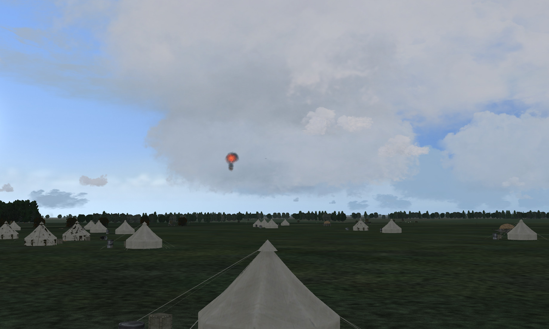 y balloon destroyed over camp.jpg